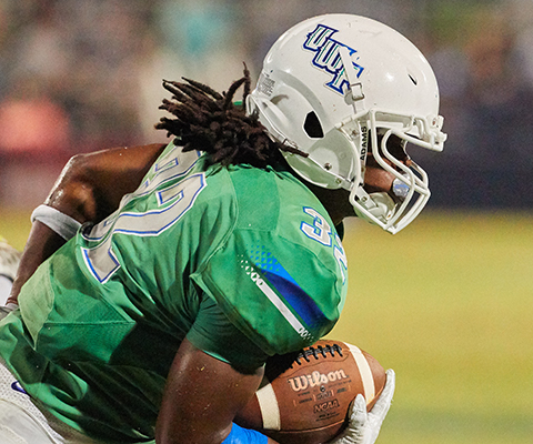 UWF football player